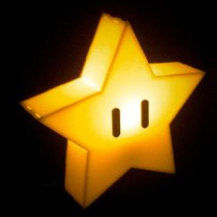 Christmas Chair Covers Transport Wheelchair Nova Super Mario Star Lamp - Shut Up And Take My Money