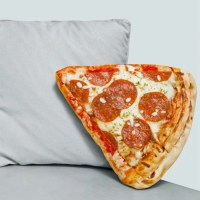 Pizza Slice Throw Pillow
