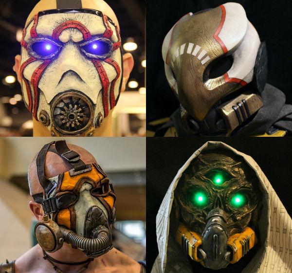 Borderlands Bandit Mask Shut Up And Take My Money