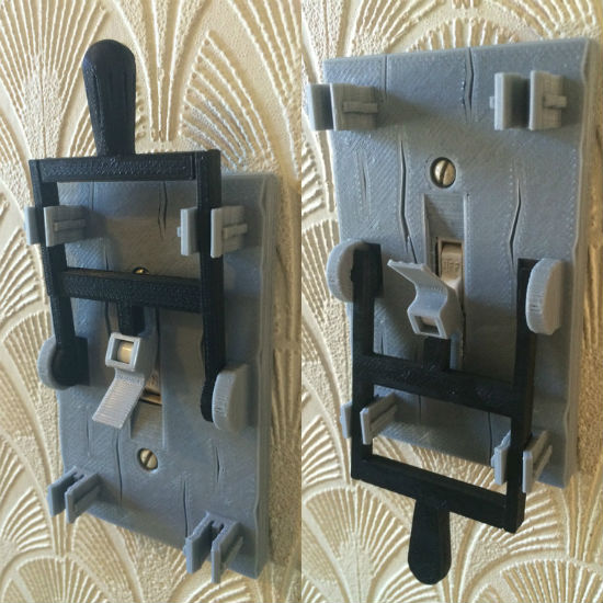 3D Printed Frankenstein Light Switch Plate  Shut Up And