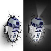 R2D2 3d Wall Light | Shut Up And Take My Money