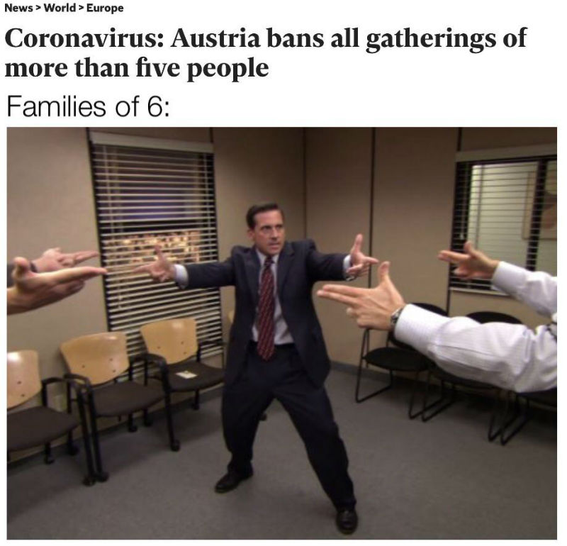 Austria Bans Gatherings Of 5 Or More People - Families Of 6 Corona ...