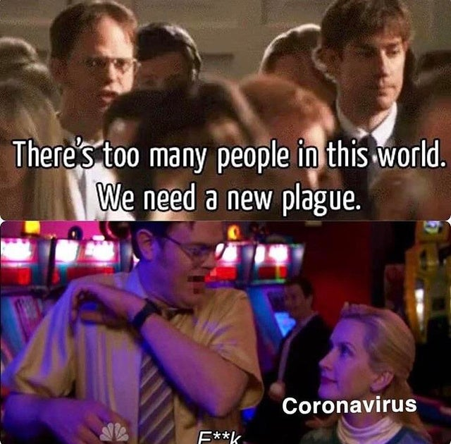 The Office Corona Virus Meme - Shut Up And Take My Money