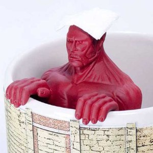 Colossal Titan Tea Strainer Mug Set