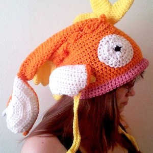 Pokemon Crochet Magikarp Hat