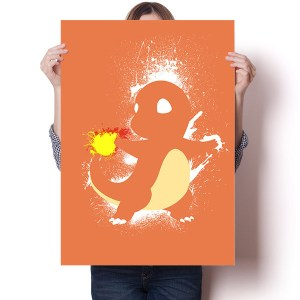 Pokemon Splatter Posters Art Shut Up And Take My Yen : Anime & Gaming Merchandise