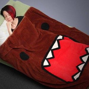 Domo Blanket Domo-kun Shut Up And Take My Yen : Anime & Gaming Merchandise