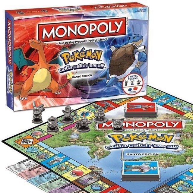 Pokemon Monopoly Edition Shut Up And Take My Yen : Anime & Gaming Merchandise