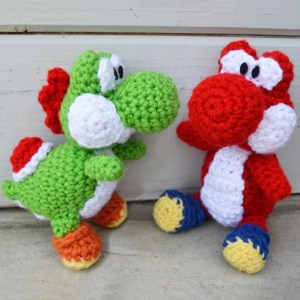 Woolly Crochet Yoshi Plush Amigurumi Shut Up And Take My Yen : Anime & Gaming Merchandise