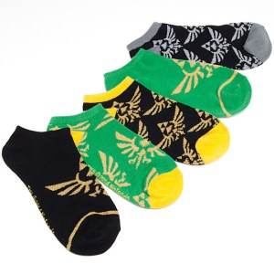Legend of Zelda Ankle Socks Shut Up And Take My Yen : Anime & Gaming Merchandise