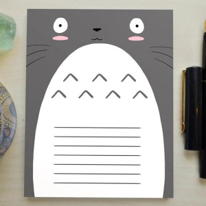 My Neighbor Totoro Notepad