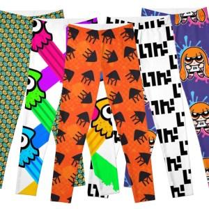 Splatoon Leggings Shut Up And Take My Yen : Anime & Gaming Merchandise