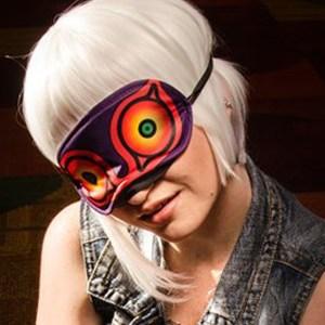 Majora's Terrible Fate Sleep Mask Shut Up And Take My Yen : Anime & Gaming Merchandise