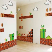 Super Mario Wall Graphics