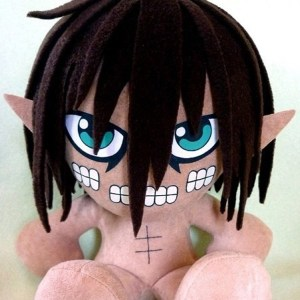 Titan Eren Plushie Shut Up And Take My Yen : Anime & Gaming Merchandise