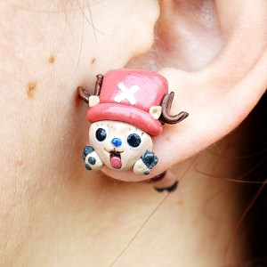 One Piece Chopper Earring Shut Up And Take My Yen : Anime & Gaming Merchandise