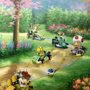 Mario Kart Painting
