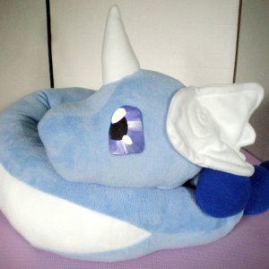 Large Pokemon Dragonair Plush Shut Up And Take My Yen : Anime & Gaming Merchandise