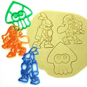 Splatoon Cookie Cutters Shut Up And Take My Yen : Anime & Gaming Merchandise