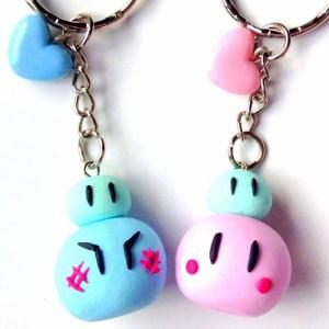 Clannad Dango Keychain Shut Up And Take My Yen : Anime & Gaming Merchandise