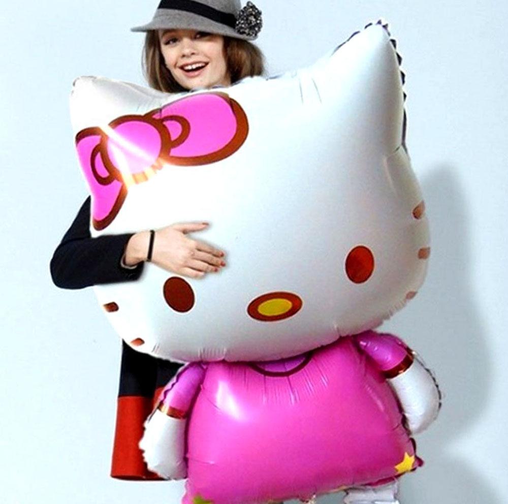 Hello Kitty Balloon Shut Up And Take My Yen