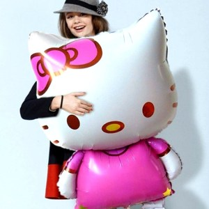 Hello Kitty Balloon Shut Up And Take My Yen : Anime & Gaming Merchandise