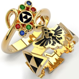 Legend Of Zelda Rings Shut Up And Take My Yen : Anime & Gaming Merchandise