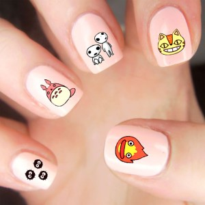 Studio Ghibli Nail Decals Shut Up And Take My Yen : Anime & Gaming Merchandise