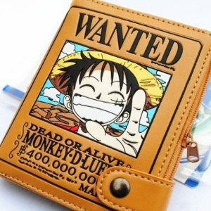 One Piece Luffy Wallet Shut Up And Take My Yen : Anime & Gaming Merchandise