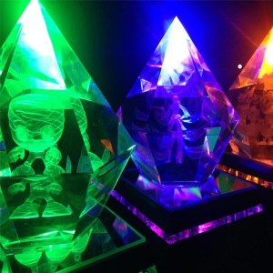 LED League Of Legend Crystals