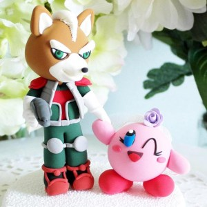 Super Smash Bros Cake Topper