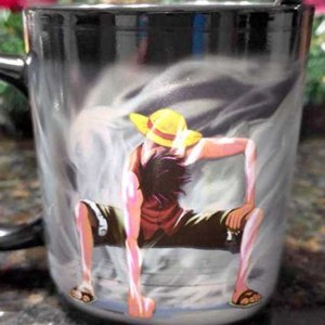 One Piece Heat Reactive Mug