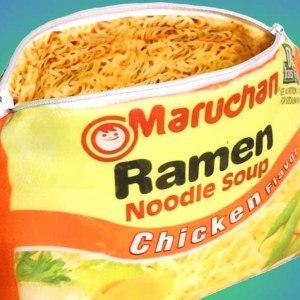Ramen Noodle Purse