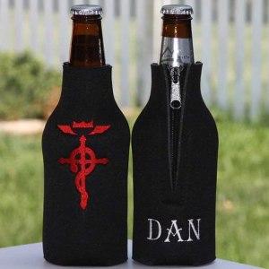 Fullmetal Alchemist Beer Koozie