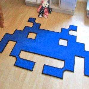 Space Invaders Rug