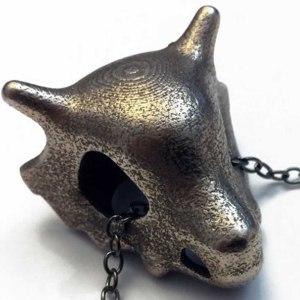 Pokemon Cubone Skull Necklace
