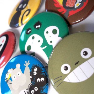 Studio Ghibli Magnets