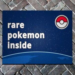 Rare Pokemon Inside Doormat