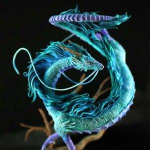 Spirited Away Haku Sculpture