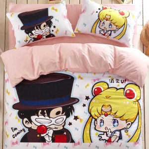 Sailor Moon Bed Set