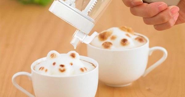 3d Latte Art Maker - Shut And Yen