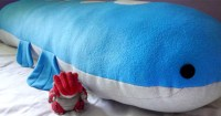 Huge 5ft Wailord Body Pillow Plush - Shut Up And Take My Yen