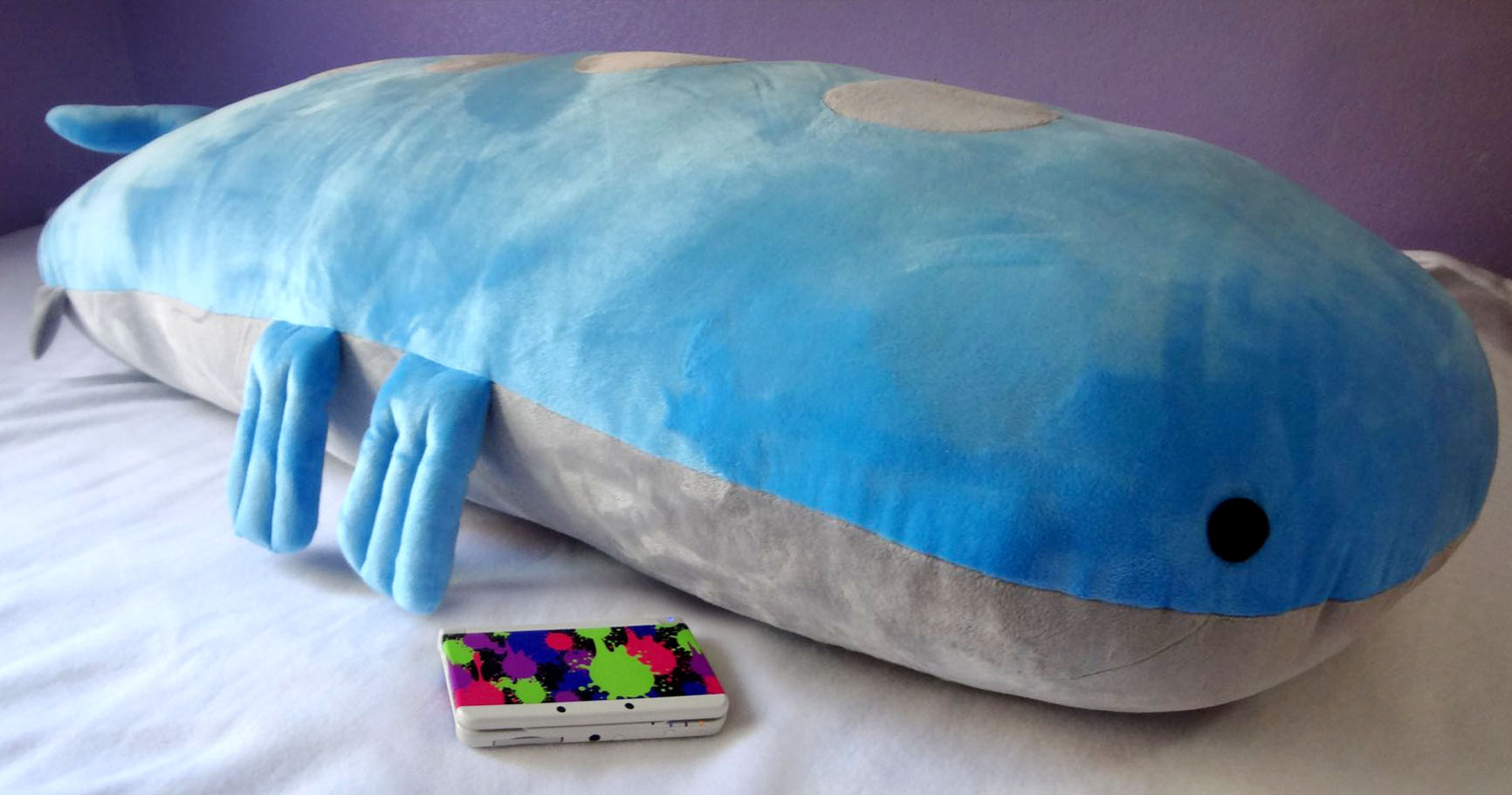 Pokemon 5ft Wailord Body Pillow Shut Up And Take My Yen