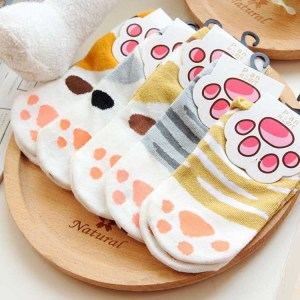 Kawaii Neko Cat Socks