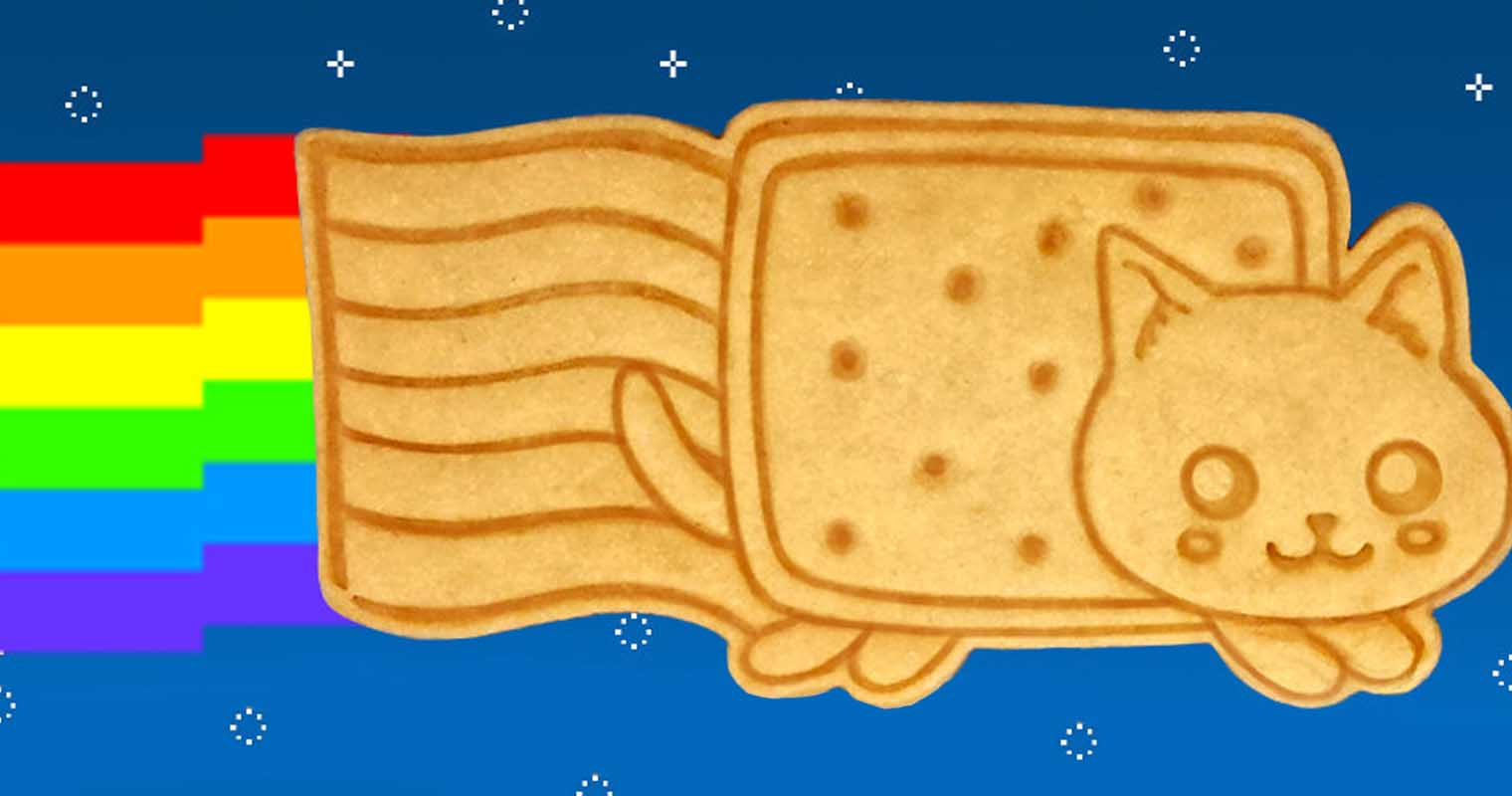 Nyan Cat Cookie Cutter Shut Up And Take My Yen