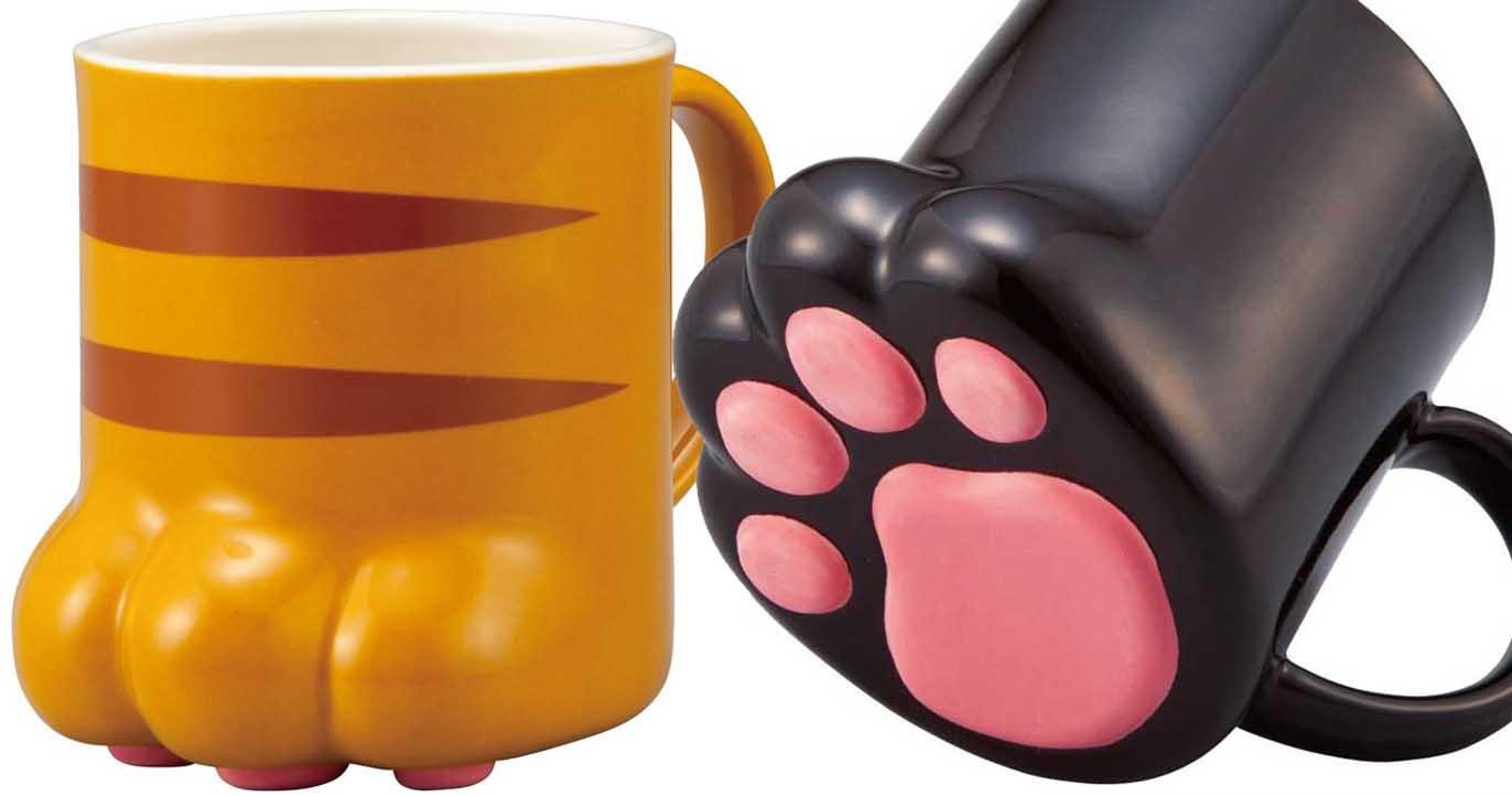 cat paw mug shut up and take my yen. Black Bedroom Furniture Sets. Home Design Ideas