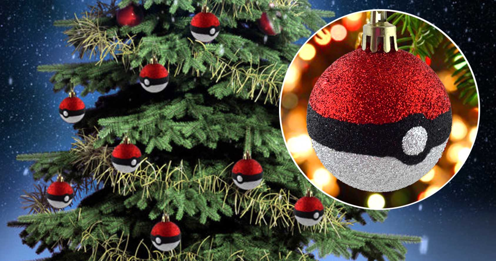 Pokeball Christmas Tree Ornaments - Shut Up And Take My Yen
