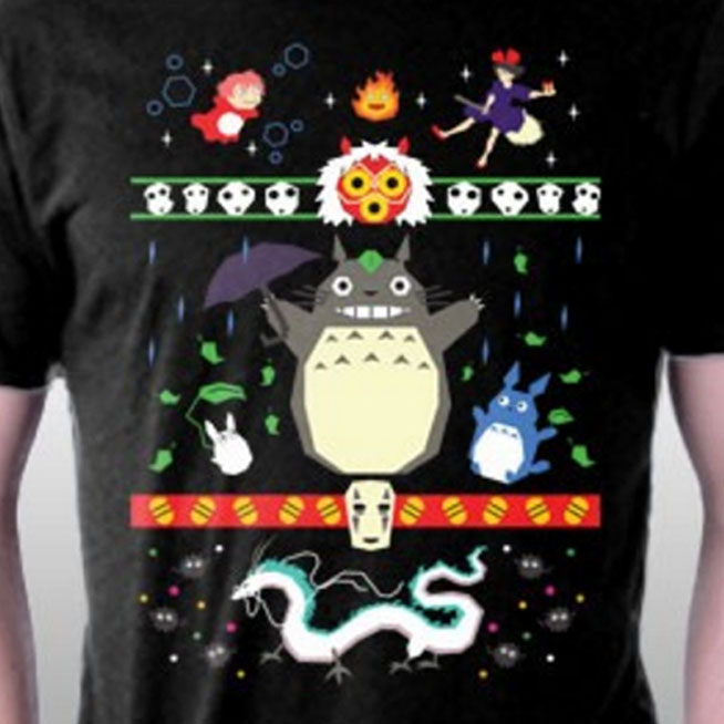 Totoro Christmas Sweaters