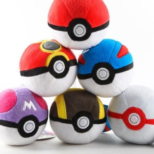 Pokeball Plush