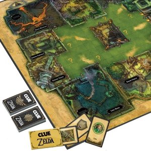 Legend Of Zelda Clue Board Game